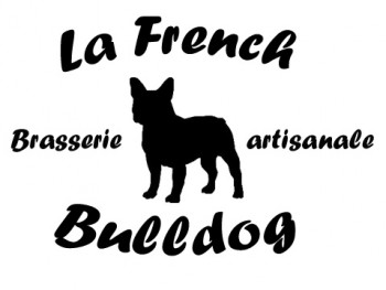 Logo brasserie artisanale la french bulldog finest craft beer
